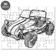 Retro Dune Buggy Puzzle