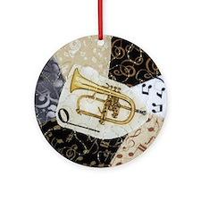 Flugelhorn Music Ornament