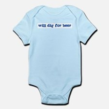 Will Dig for Beer I Infant Creeper