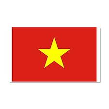 Flag of Vietnam Car Magnet 20 x 12