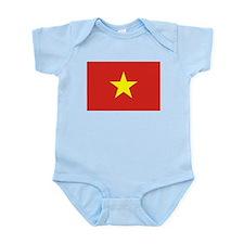 Flag of Vietnam Infant Bodysuit