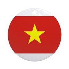 Flag of Vietnam Ornament (Round)