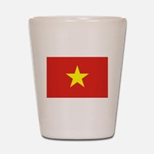 Flag of Vietnam Shot Glass