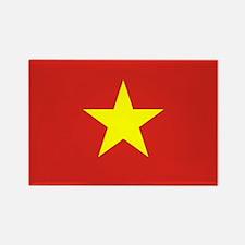 Flag of Vietnam Rectangle Magnet