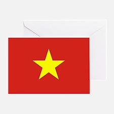 Flag of Vietnam Greeting Card