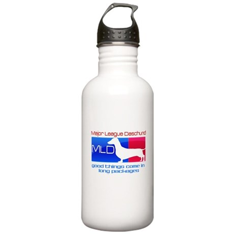 Major League Daschund Stainless Water Bottle 1.0L