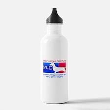 Major League Daschund Water Bottle