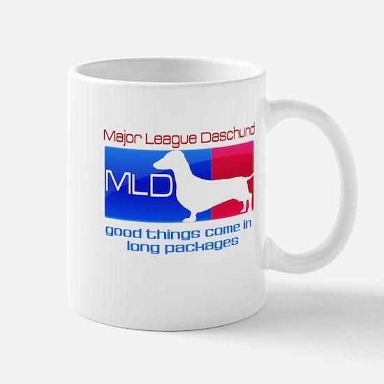 Major League Daschund Mug
