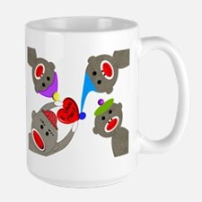 Sock Monkey Large Mug