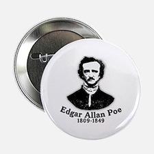 "Edgar Allan Poe Tribute 2.25"" Button (10 pack)"