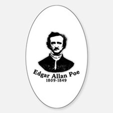 Edgar Allan Poe Tribute Decal
