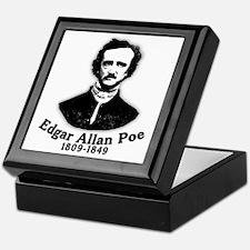 Edgar Allan Poe Tribute Keepsake Box