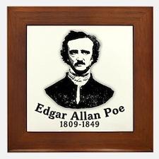 Edgar Allan Poe Tribute Framed Tile