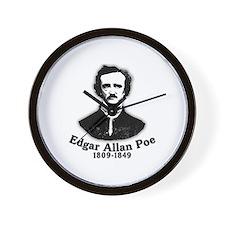 Edgar Allan Poe Tribute Wall Clock