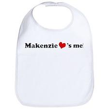 Makenzie loves me Bib