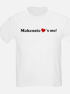 Makenzie loves me Kids T-Shirt