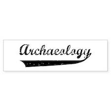 Vintage Archaeology 1 Bumper Bumper Sticker