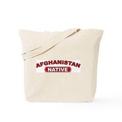 Afghanistan Native Tote Bag