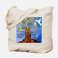 Tree of Life Design Tote Bag