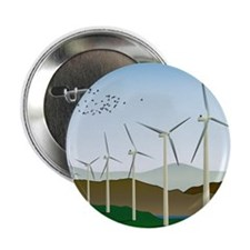"""Wind Turbines 2.25"""" Button (10 pack)"""
