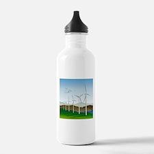 Wind Turbines Water Bottle