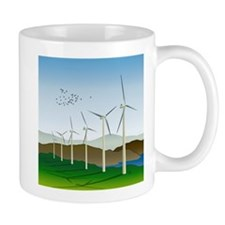 Wind Turbines Mug
