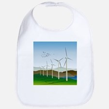 Wind Turbines Bib