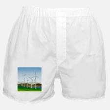 Wind Turbines Boxer Shorts