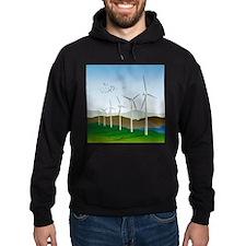 Wind Turbines Hoodie