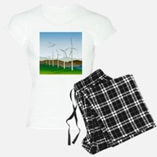 Wind Turbines Pajamas
