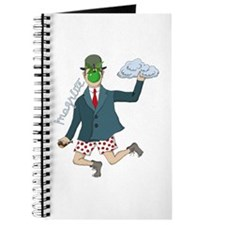 Art Magritte Funny Humor Journal