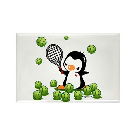 Tennis (22) Rectangle Magnet