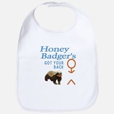 I Got Your Back Honey Badger Bib