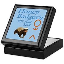 I Got Your Back Honey Badger Keepsake Box