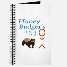 I Got Your Back Honey Badger Journal