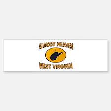 ALMOST HEAVEN Sticker (Bumper)