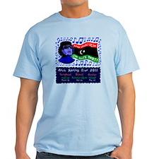 Libya Blues Party t-shirt T-Shirt