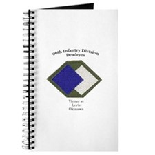 Cute 96th infantry division Journal