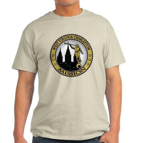 West Virginia Charleston LDS Light T-Shirt