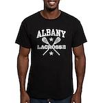 Albany Lacrosse Men's Fitted T-Shirt (dark)