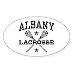 Albany Lacrosse Sticker (Oval)