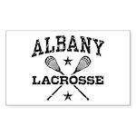 Albany Lacrosse Sticker (Rectangle)