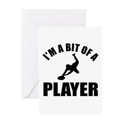 I'm a bit of a player rugby Greeting Card