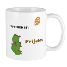 Powered by Frijoles Coffee Mug
