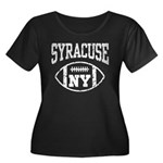 Syracuse NY Football Women's Plus Size Scoop Neck
