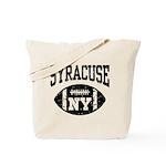 Syracuse NY Football Tote Bag