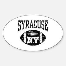 Syracuse NY Football Decal