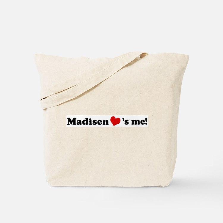 Madisen loves me Tote Bag