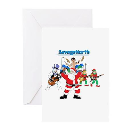Heavy Metal Christmas Greeting Cards (Pk of 20)