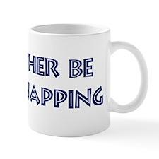 Rather be Flint Knapping Small Mug